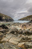Around port quin rural location in cornwall England UK Stock Photo