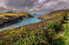 Around port quin rural location in cornwall England UK Stock Photos