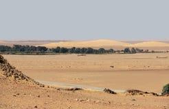 Around Qasr Dusch Stock Image