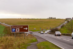 In and around Stonehenge, England Royalty Free Stock Photography