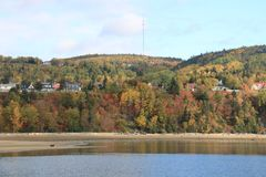 Discovery Quebec Landscapes in Autumn Stock Images