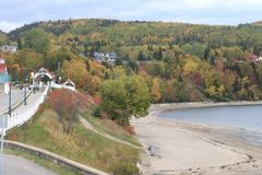 Discovery Quebec Landscapes in Autumn Stock Photography
