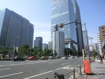 Around Tokyo Station Royalty Free Stock Images