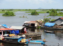 Around Tonle Sap Royalty Free Stock Photography