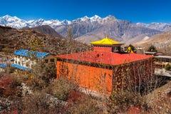 Around the village of Muktinath Royalty Free Stock Photo