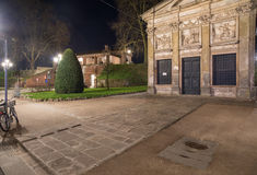 Around the walls of lucca tuscany Italy europe Royalty Free Stock Images