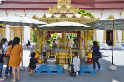 Around Wat Chana Songkhram Ratchaworamahawihan in Bangkok Stock Images