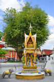 Around Wat Chana Songkhram Ratchaworamahawihan in Bangkok Royalty Free Stock Photo