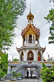 Around Wat Chana Songkhram Ratchaworamahawihan in Bangkok Stock Photography