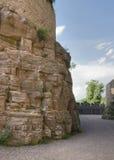 Around Wertheim Castle at summer time Stock Photos