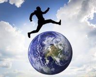 Around the world Stock Image