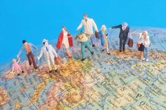Around the world Royalty Free Stock Image
