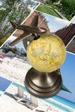 Around the World. Royalty Free Stock Photos