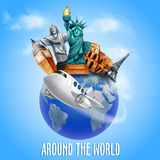 Around the world Stock Images