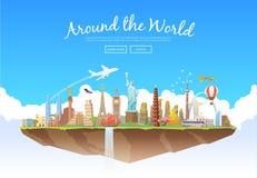 Around the World Stock Photo