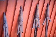 Arpões oxidados Imagens de Stock