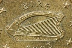 Arpa céltica de Irlanda Imágenes de archivo libres de regalías