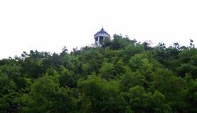 Arpa de Aeolus en la montaña de Mashuk Señales y Monumen de Pyatigorsk Imágenes de archivo libres de regalías
