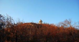 Arpa de Aeolus en la montaña de Mashuk Señales y Monumen de Pyatigorsk Fotos de archivo libres de regalías