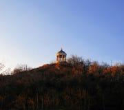 Arpa de Aeolus en tiempo del otoño Señales y monumentos de Pyatigorsk Imagen de archivo libre de regalías