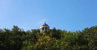 Arpa de Aeolus en verano Señales y monumentos de Pyatigorsk Foto de archivo libre de regalías
