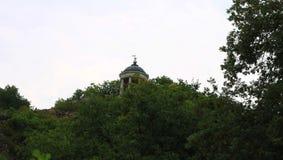 Arpa de Aeolus en verano Señales y monumentos de Pyatigorsk Foto de archivo