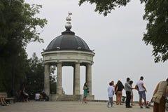 Arpa de Aeolus en verano Señales y monumentos de Pyatigorsk Imagenes de archivo