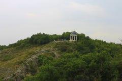 Arpa de Aeolus en verano Señales y monumentos de Pyatigorsk Fotos de archivo