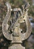 Arpa de la piedra Foto de archivo libre de regalías