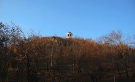 Arpa di Aeolus in Autumntime Punti di riferimento e monumenti di Pjatigorsk Fotografia Stock Libera da Diritti