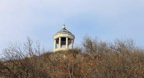 Arpa di Aeolus sulla montagna di Mashuk Punti di riferimento e Monumen di Pjatigorsk Immagini Stock Libere da Diritti