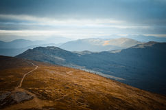 Arpathian berg för Ð-¡ royaltyfria foton