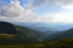 Arpathians ¡ Ð Стоковое Изображение RF