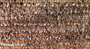 Сarpet covering. Carpeted floor, web artificial thread, duck streak pattern Stock Image