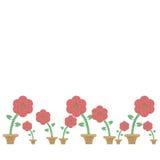Arpillera de la flor imagen de archivo libre de regalías