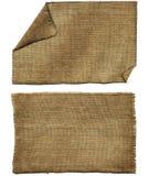 Arpillera de la solapa Imágenes de archivo libres de regalías