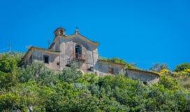 Arpino, αρχαία πόλη στην επαρχία Frosinone, Λάτσιο, κεντρική Ιταλία Στοκ Εικόνες