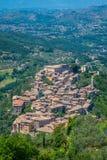 Arpino, αρχαία πόλη στην επαρχία Frosinone, Λάτσιο, κεντρική Ιταλία Στοκ φωτογραφίες με δικαίωμα ελεύθερης χρήσης