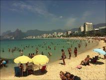 Arpoador Beach Rio de Janeiro Brazil Morning stock video