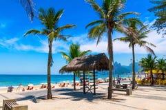Arpoador and Ipanema beach in Rio de Janeiro Stock Photos