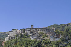 Arquata del Tronto Royalty Free Stock Images