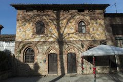 ` Arquato, ciudad medieval de Castell Fotos de archivo