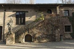 ` Arquato, ciudad medieval de Castell Foto de archivo libre de regalías