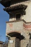 ` Arquato, ciudad medieval de Castell Imagen de archivo