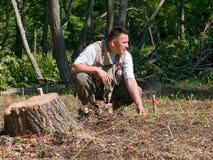 Arqueólogo 15 Foto de Stock Royalty Free