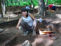 Arqueólogo 7 Foto de archivo