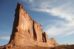 Arque le monolithe Utah Image libre de droits