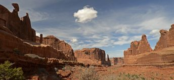 Arque le parc national, Utah, Etats-Unis Photos stock