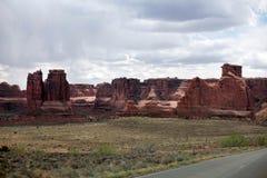 Arque le parc national, Utah, Etats-Unis Photo stock