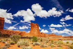 Arque le parc national, Utah, Etats-Unis Photo libre de droits